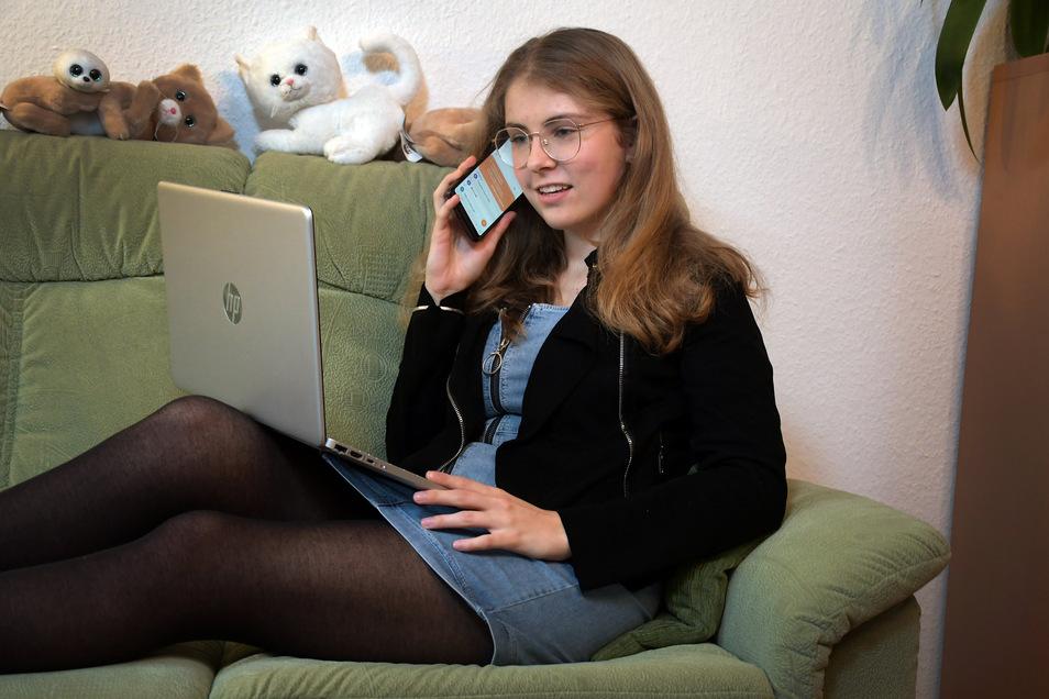 """Sophia-Cäcilia Hänsel:""""Ich hätte da lieber einen Lehrer an meiner Seite."""""""