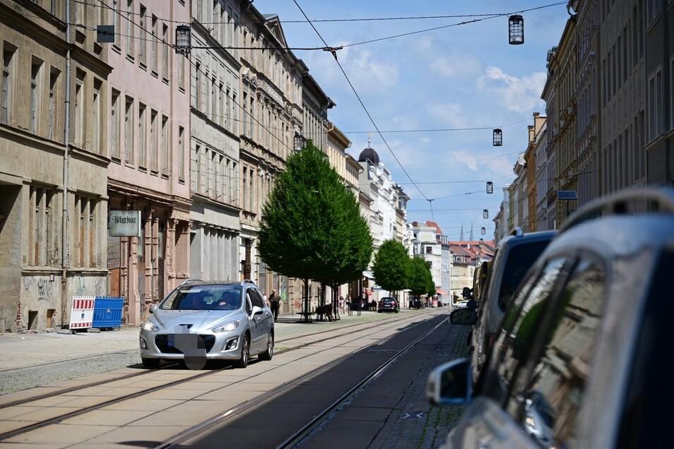 Das ist die falsche Fahrtrichtung auf der Berliner Straße.