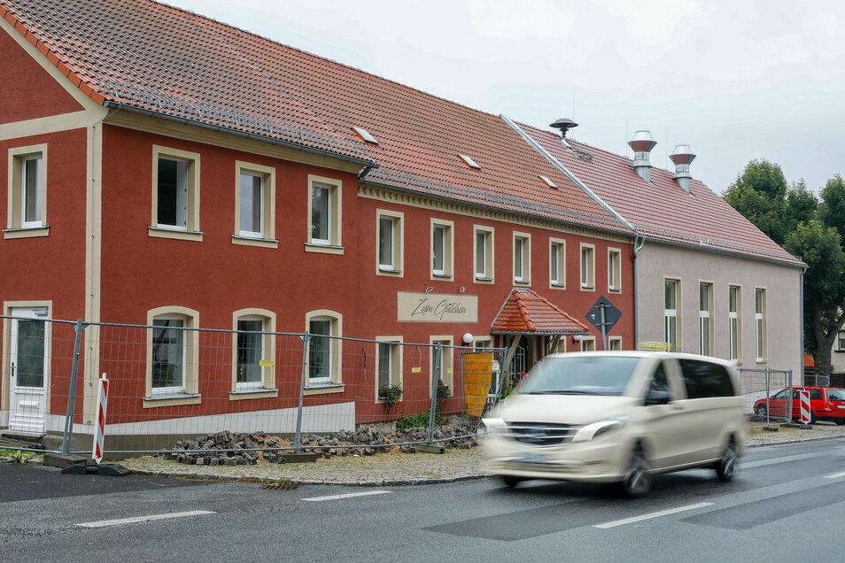 """Bis auf einige Arbeiten im Außenbereich sind die Sanierungsarbeiten im """"Gütchen"""" in Mittelherwigsdorf abgeschlossen."""