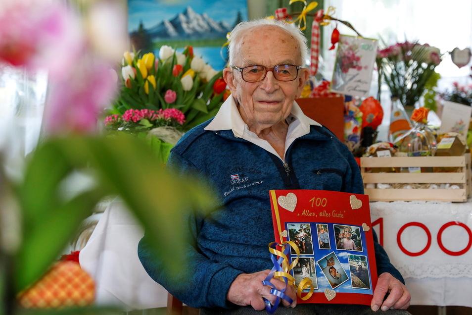 Der Neugersdorfer Hermann Röthig feiert seinen 100. Geburtstag.