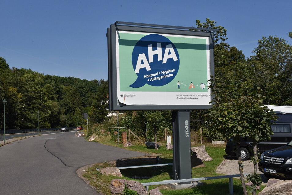 Diese Werbetafel steht bereits in Ulberndorf an der B 170. Eine zweite solche Anlage lehnte der Stadtrat Dipps ab.