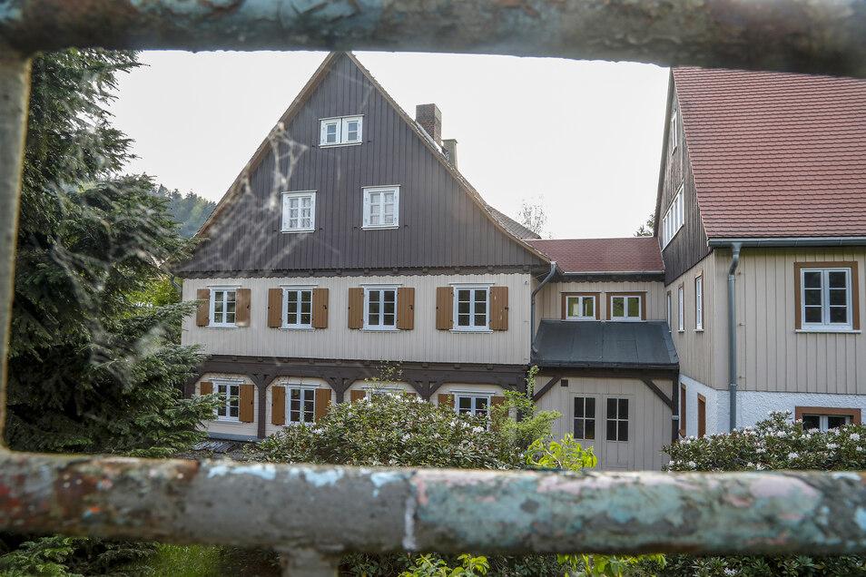 Die ehemalige Jonsdorfer Jugendherberge gehört jetzt einem Investor aus Tschechien.