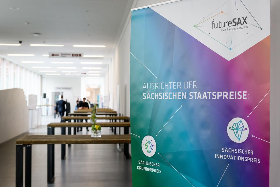Auf der Futuresax-Innovationskonferenz wurden die Staatspreis für die beste Gründung, Innovation und das beste Transferprojekt verliehen.