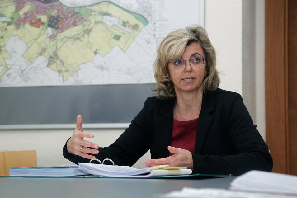 Kerstin Köhler (parteilos) ist in Riesa Bürgermeisterin für Finanzen, Bildung, Service und Ordnung.