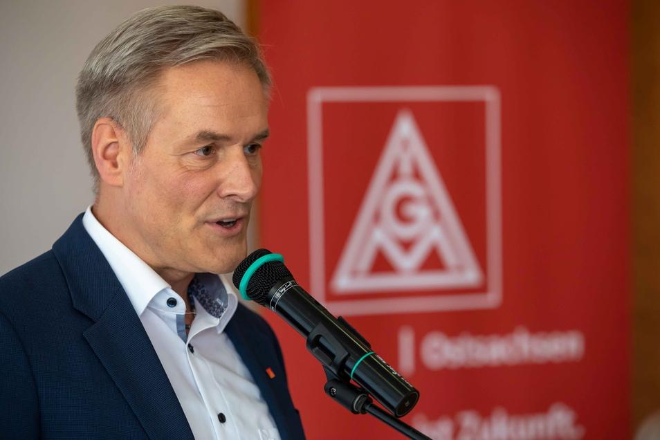 Uwe Garbe ist der neue Erste Bevollmächtigte der IG Metall Ostsachsen.