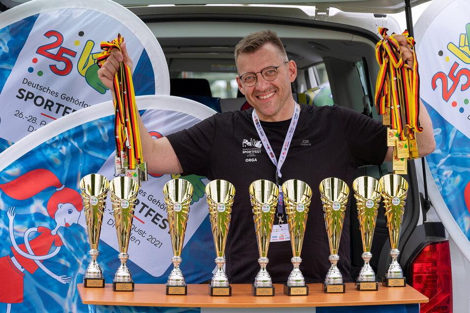 Der Wahl-Dresdner André Brändel organisiert das 25. Deutsche Gehörlosensportfest – zu dem knapp 1.000 Sportler erwartet werden.
