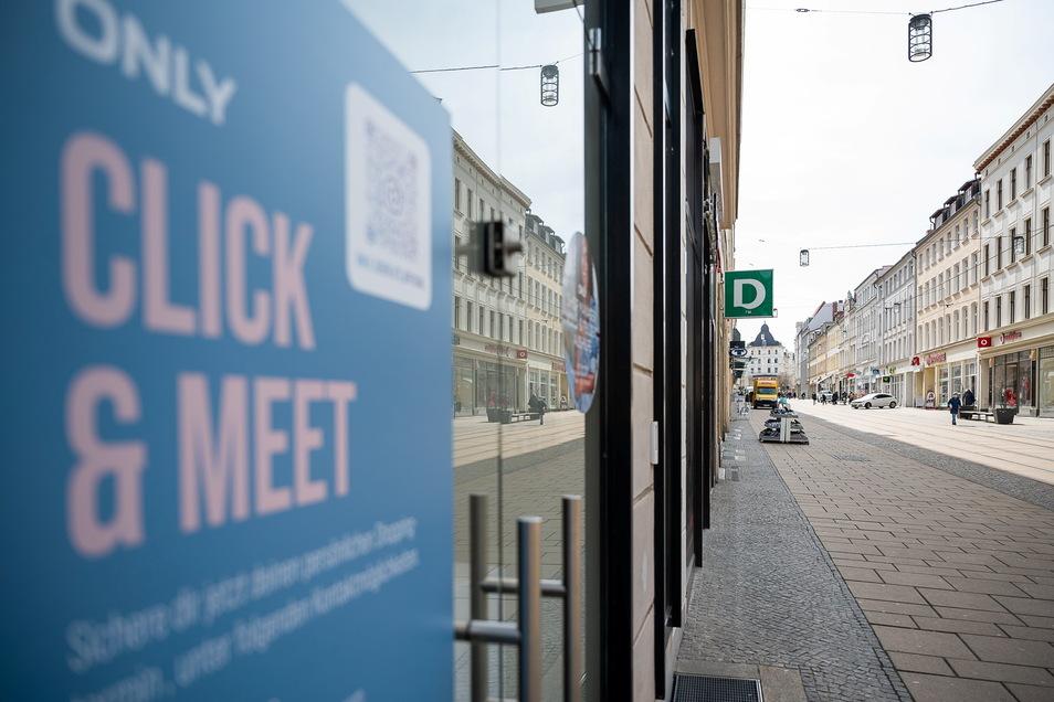 """""""Click & Meet"""" - Also Einkauf mit Termin - ist für den Einzelhandel wieder untersagt."""