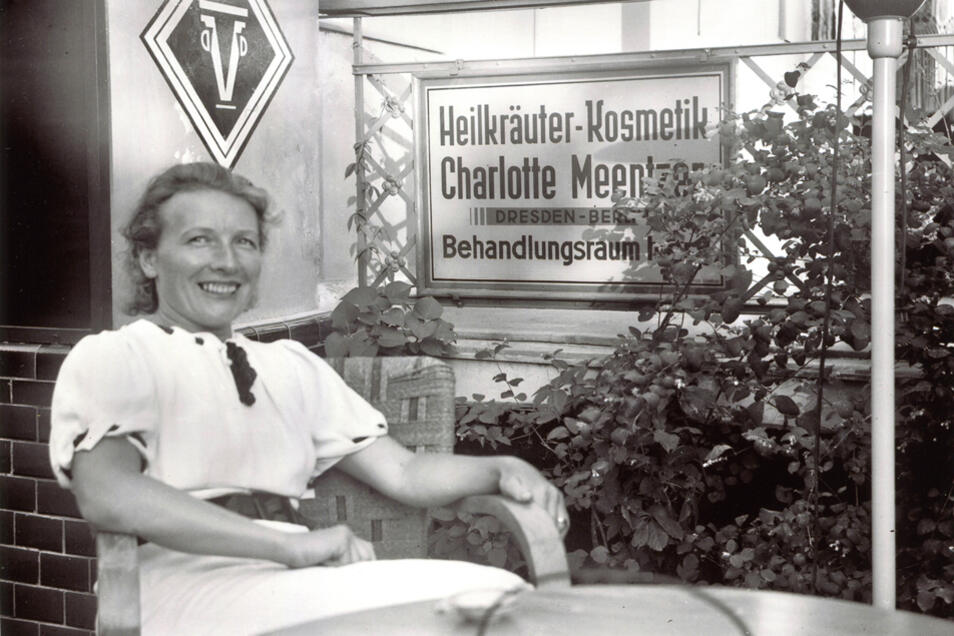 """In ihrem """"Institut für Natürliche Kosmetik"""" wollte Charlotte Meentzen ihr Wissen um die Kraft der Natur an künftige Kosmetikerinnen weitergeben."""