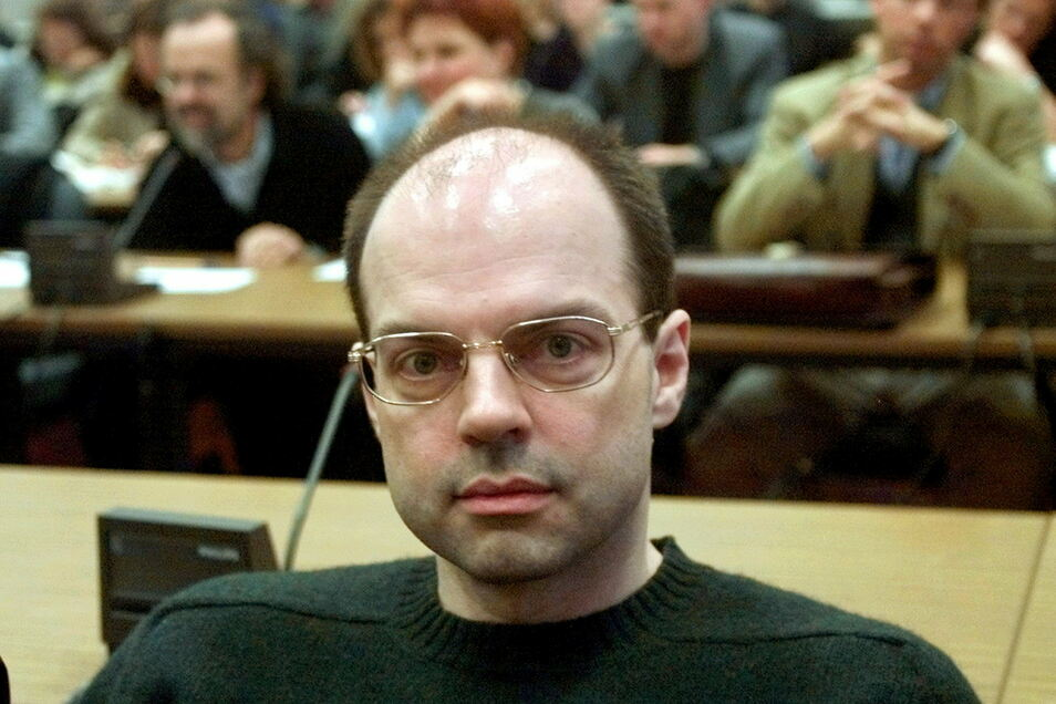 Thomas Drach im jahr 2000 vor Gericht.