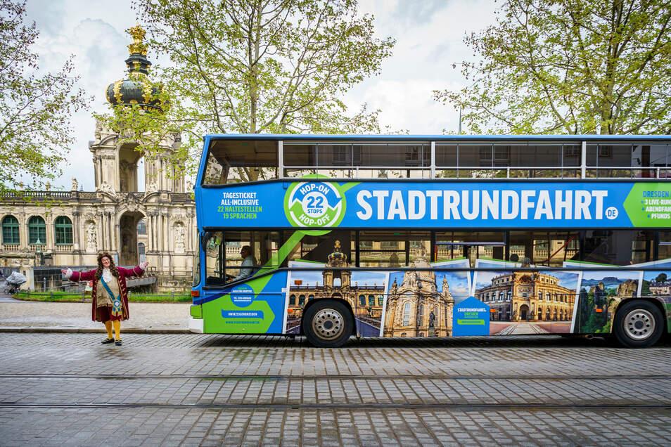 Mal wieder die Stadt Dresden erkunden? Das ist ab diesem Freitag möglich.