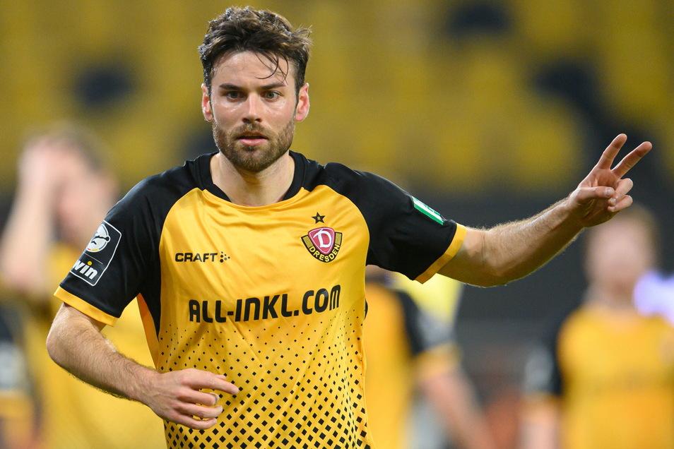 Nach sechseinhalb Jahren im schwarz-gelben Trikot ist für Niklas Kreuzer in Dresden endgültig Schluss. Der 28-Jährige Außenverteidiger schließt sich dem Halleschen FC an.