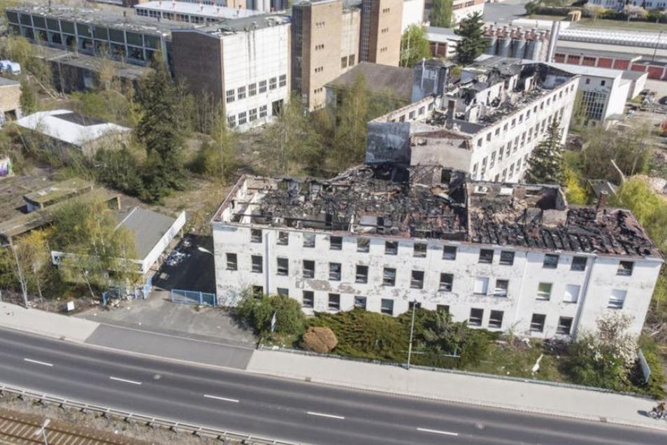 Für das Ortsbild von Ottendorf-Okrilla ist der Verfall des ehemaligen VEB Presswerk eine Katastrophe. Denn das Gelände liegt direkt an der B 97 und wird deshalb von vielen durch den Ort fahrenden Menschen wahrgenommen.
