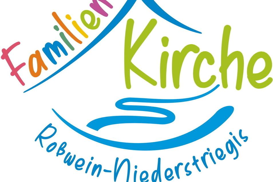 """Mit diesem Logo lädt die Kirchgemeinde Roßwein-Niederstriegis für Sonntag zur Premiere des neuen Projektes """"Familienkirche"""" ein."""