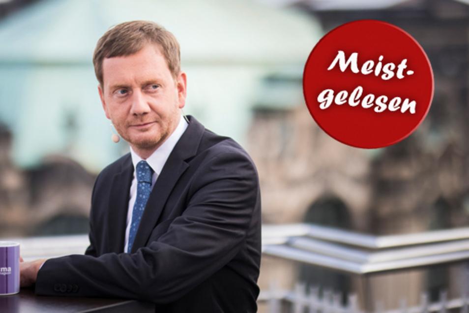 """Sachsens Ministerpräsident Michael Kretschmer: """"Eine Koalition scheitert selten an Inhalten – man sieht es in Berlin – sondern meistens an Personen."""""""