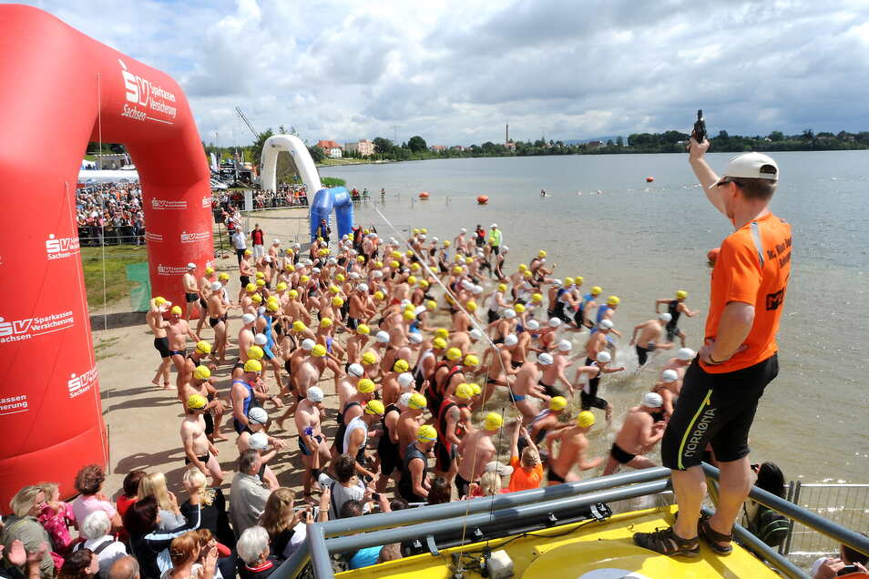Auch dieses Jahr wird am O-See wieder um die Wette geschwommen, geradelt und gelaufen. Die Teilnehmerzahl wird allerdings reduziert.