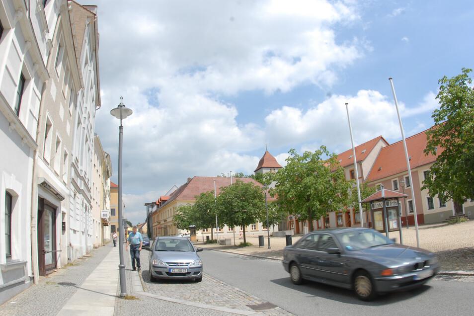 Ein Blick auf Reichensbachs Marktplatz.