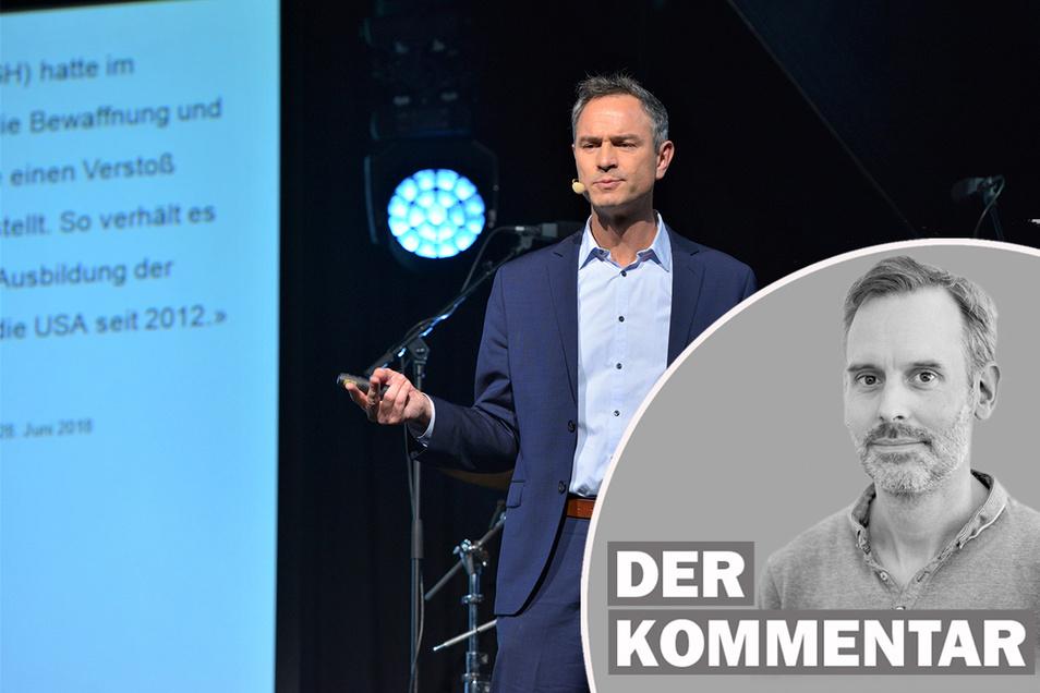 SZ-Redakteur Marcus Thielking hinterfragt den wiederholten Auftritt des Verschwörungstheoretikers Daniele Ganser im Rahmen der Jazztage-