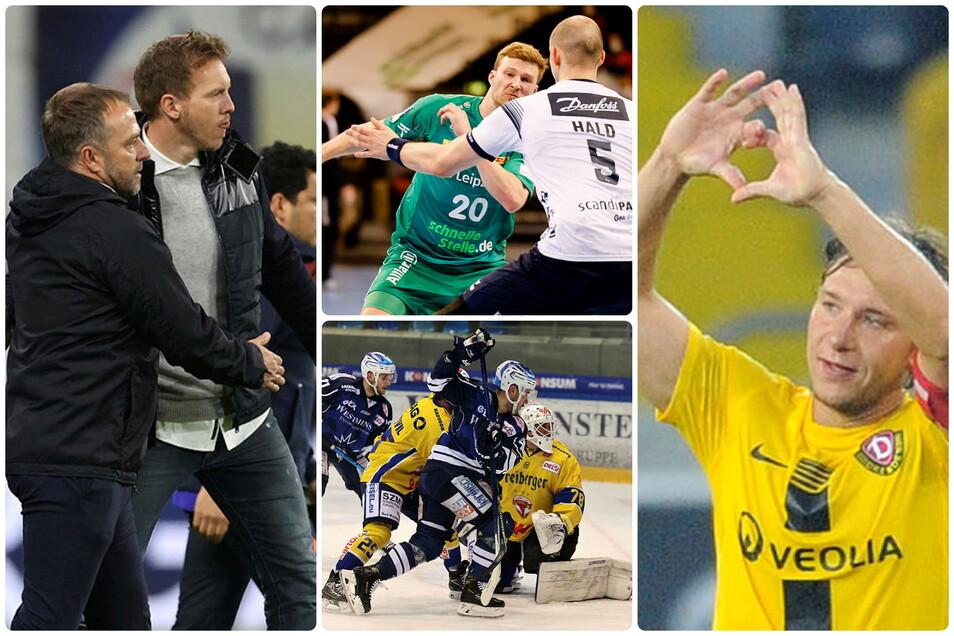 Folgt Nagelsmann auf Flick? Handballer Philipp Weber spielt wieder internatíonal, Robert Koch geht nach Bischofswerda und Eislöwen und Füchse treiben die Personalplanungen voran - der Sportmontag.