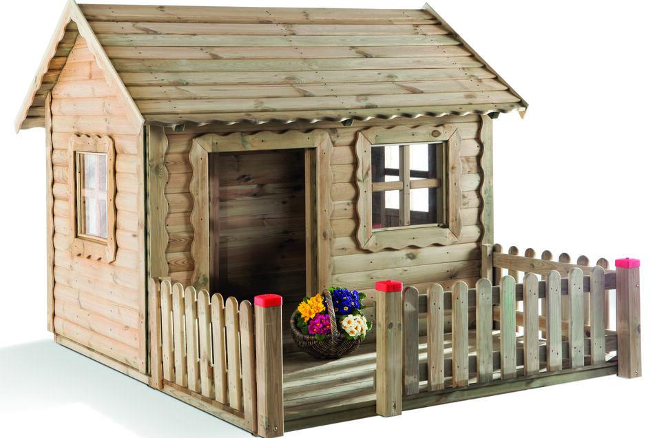 So sieht das neue Spielhaus aus.