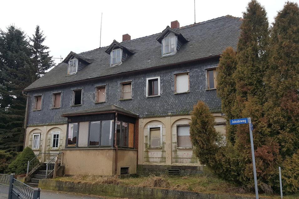 So sah das Haus vor der Sanierung aus.