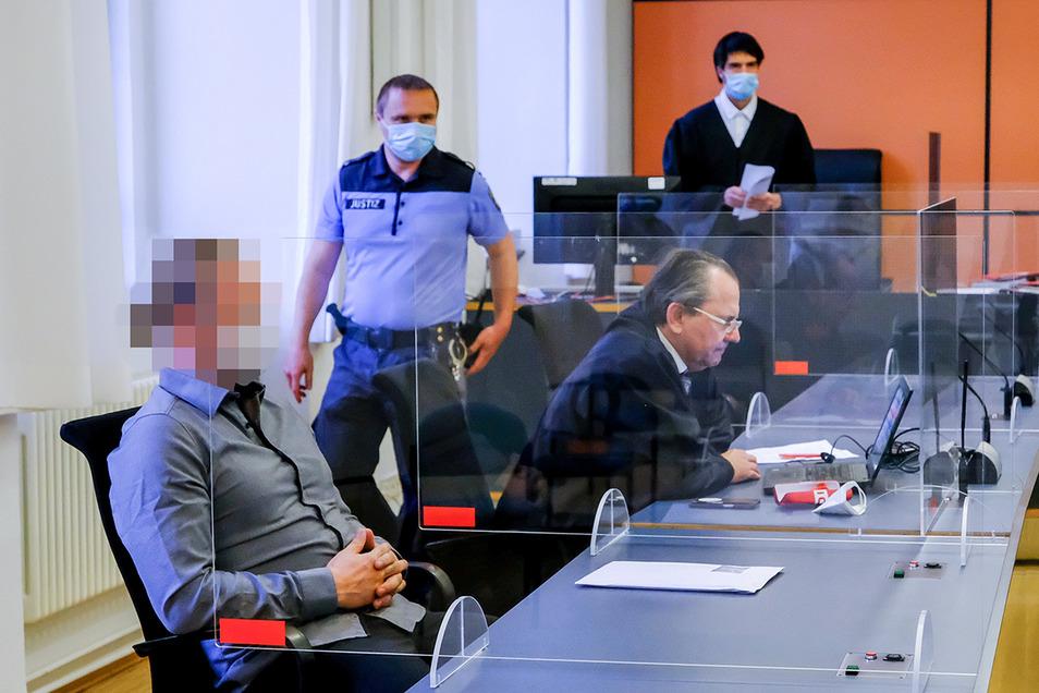 Im ersten Encrochat-Prozess am Landgericht Dresden, der am 7. Juli begann, ist Fitnesstrainer David R. wegen Drogenhandels angeklagt.