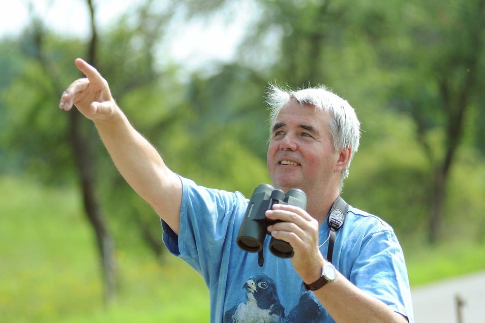 Seit 50 Jahren ist der Meißner Bernd Katzer Ornithologe und sieht in der Vogelkunde mehr als ein Hobby.