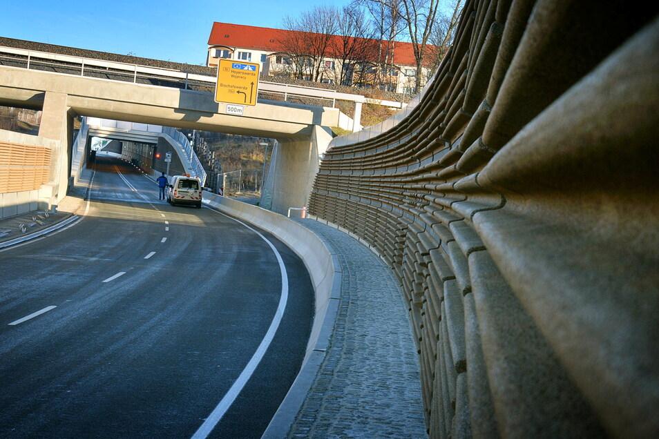 Der Westtangenten-Tunnel in Bautzen ist wegen Reparturarbeiten ab 26. Juli teilweise gesperrt.
