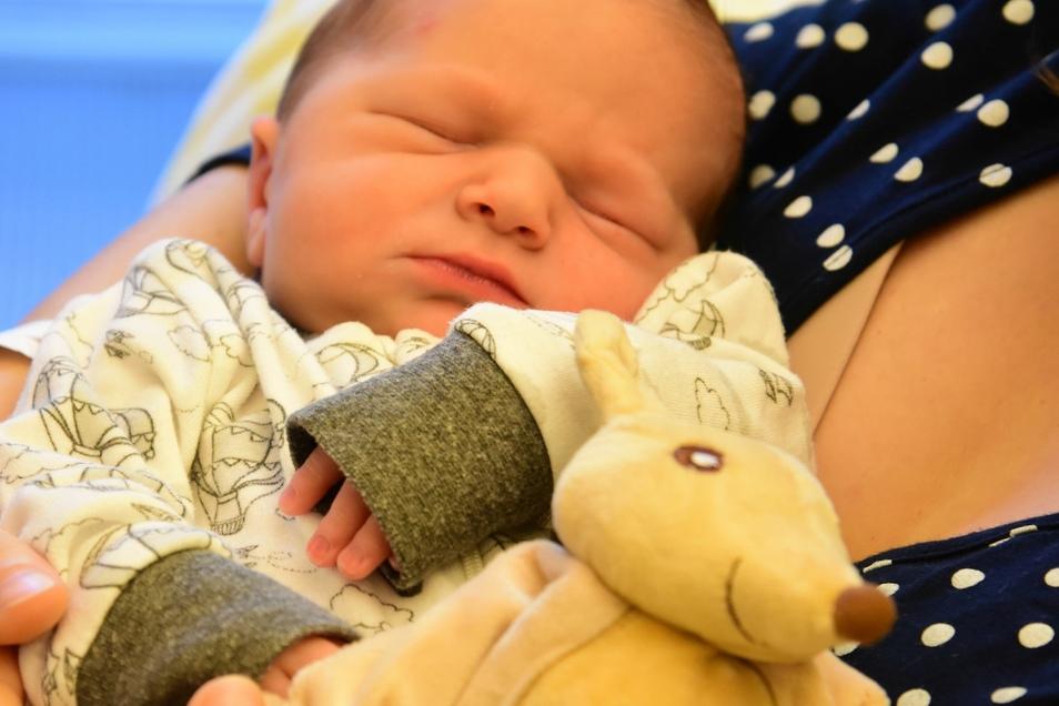 Antons Geburt war die 1.920. an der Klinik für Frauenheilkunde und Geburtshilfe des Uniklinikums Dresden.