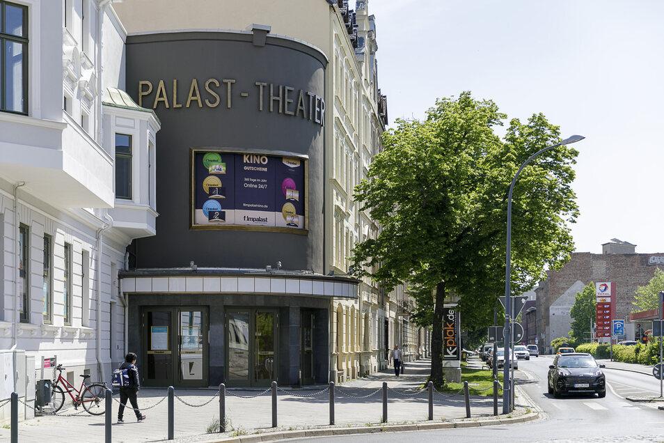 Der Filmpalast auf der Jakobstraße in Görlitz öffnet nach der Corona-Zwangspause wieder.