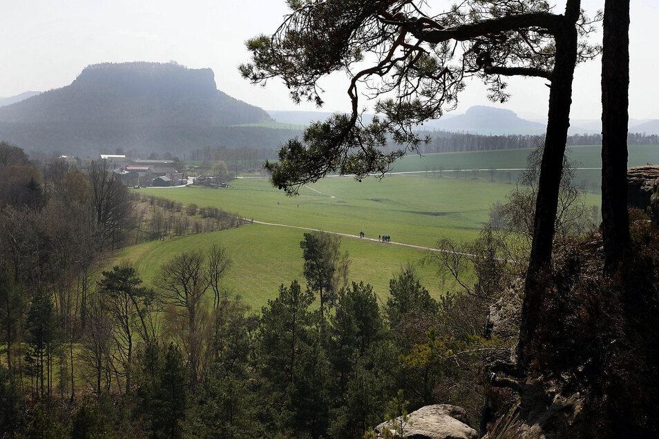 Für die allermeisten tabu am Wochenende: ein Ausflug in den Elbsandstein.