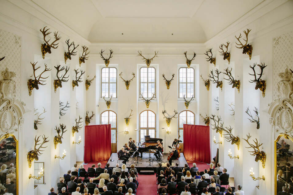 Festival-Konzert im Speisesaal von Schloss Moritzburg