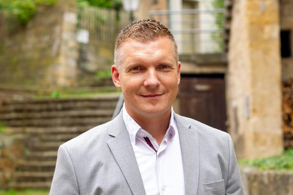 Seine erste Amtszeit läuft ab: Königsteins Bürgermeister Tobias Kummer (CDU).