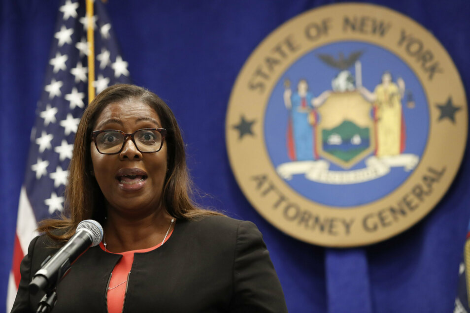 Generalstaatsanwältin Letitia James klagt die NRA an - und dürfte damit ein politisches Beben auslösen.