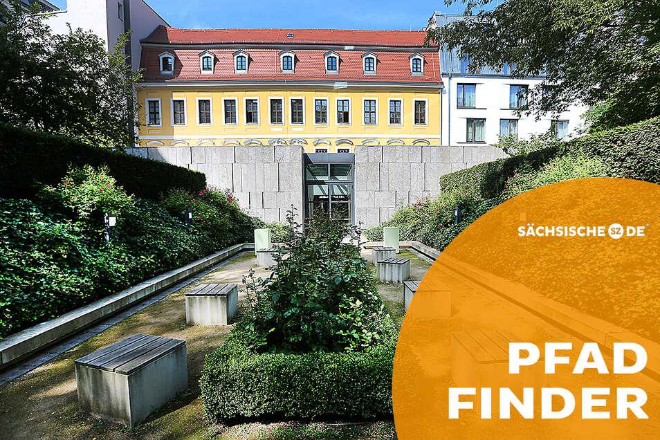 Hinter dem Bach-Museum in Leipzig liegt eine kleine Oase, damals der Lustgarten von Bachs Nachbarn. Hier beginnt die musikalische Reise durch Parks und Gärten der Musikstadt: der Leipziger Notenweg.