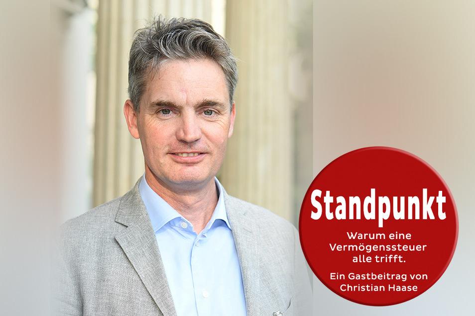 Christian Haase ist Landesvorsitzender des Verbandes Der Familienunternehmer in Sachsen.