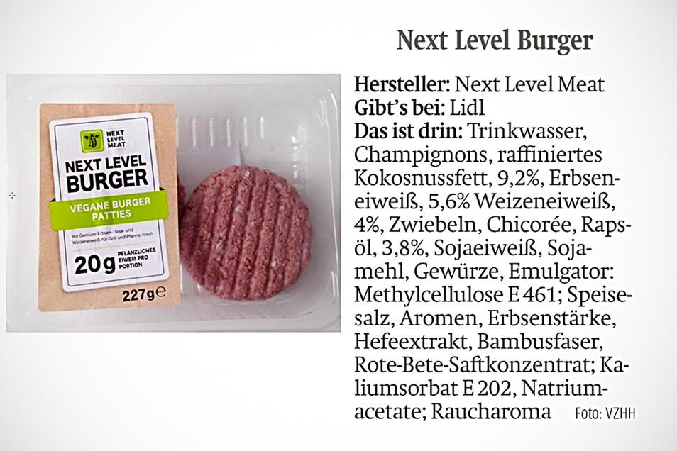 Lidl verkauft den Next Level Burger.