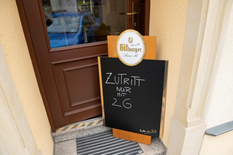 Die 2-G-Regel ist freiwillig. Die Gastwirte in der Sächsischen Schweiz haben dennoch die Nase voll.