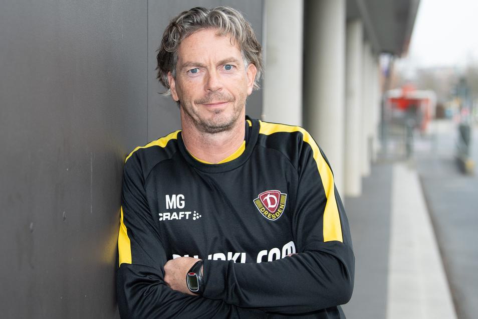 Matthias Grahé, Dynamo Dresden Fitnesstrainer. Foto: dpa/Sebastian Kahnert