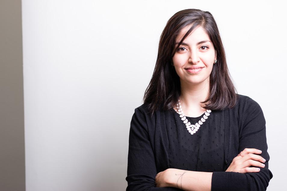 Rasha Nasr musste schon mehrfach Alltagsrassismus in Dresden erleben.