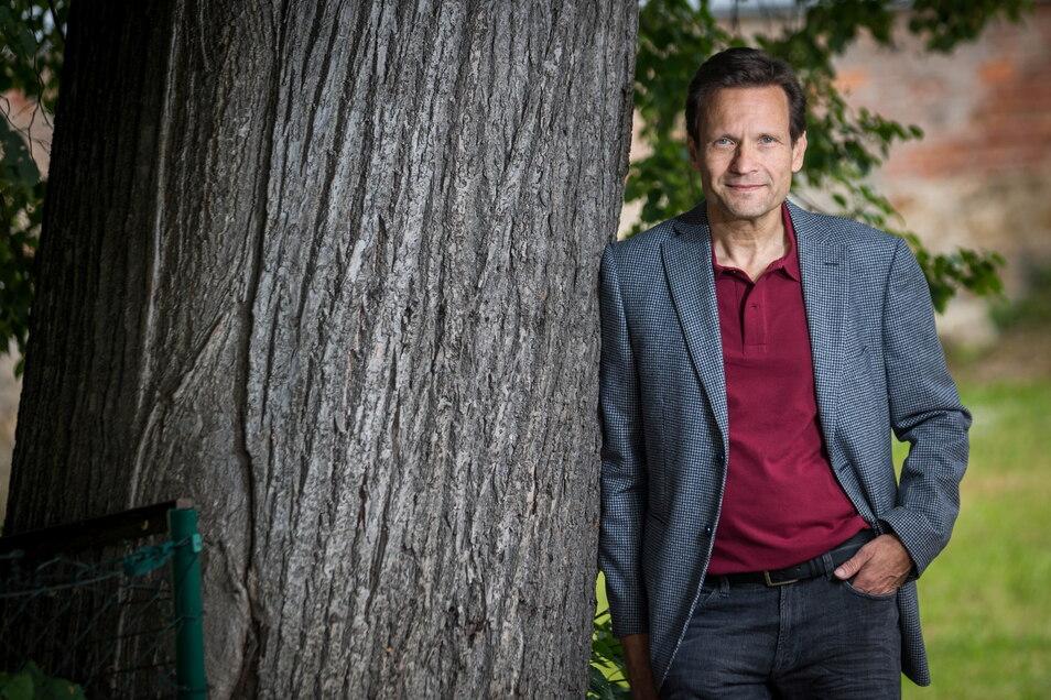 Jens Düvelshaupt will als Direktkandidat ohne Parteibuch in den Bundestag einziehen.