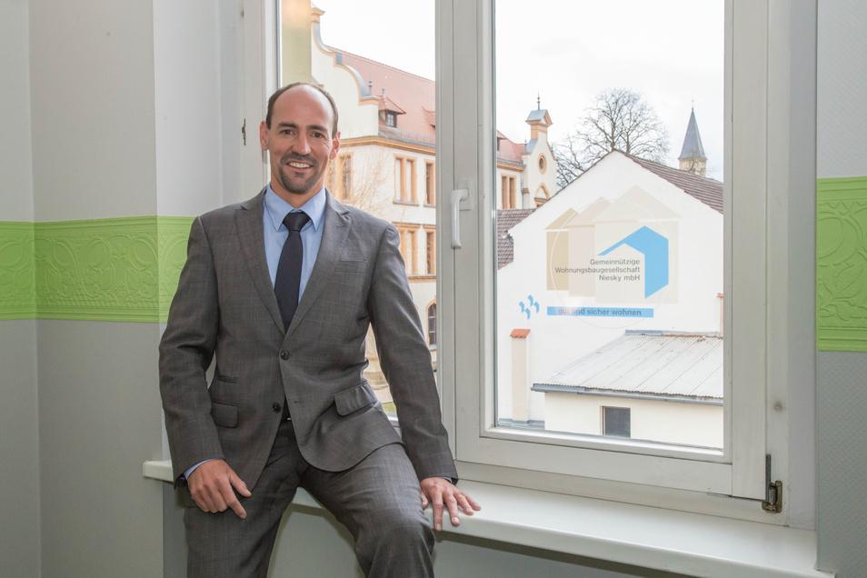 Jörg Kalbas ist Geschäftsführer des Nieskyer Bürgerhauses.