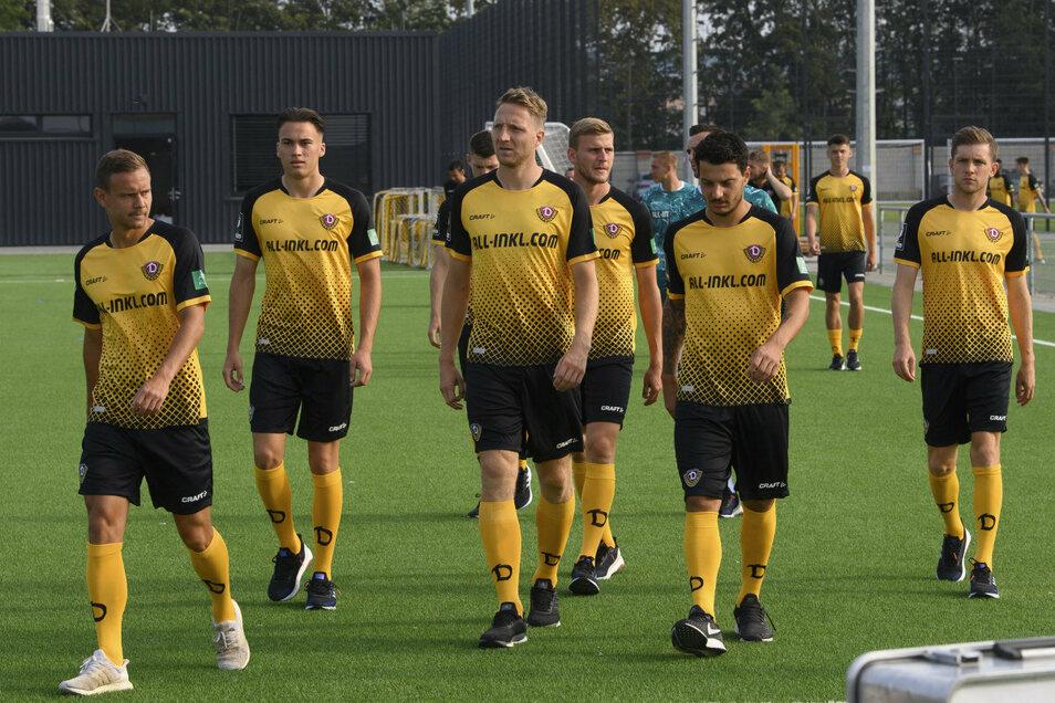 Neun Trainingstage und zwei Testspiele warten auf die Dynamo-Spieler beim Camp in Heiligenstadt.