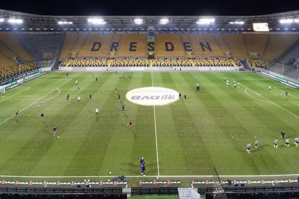 Im Heimspiel gegen Unterhaching - einmal mehr ohne Zuschauer - hat Dynamo die große Chance, sich weit oben in der Tabelle festzusetzen.