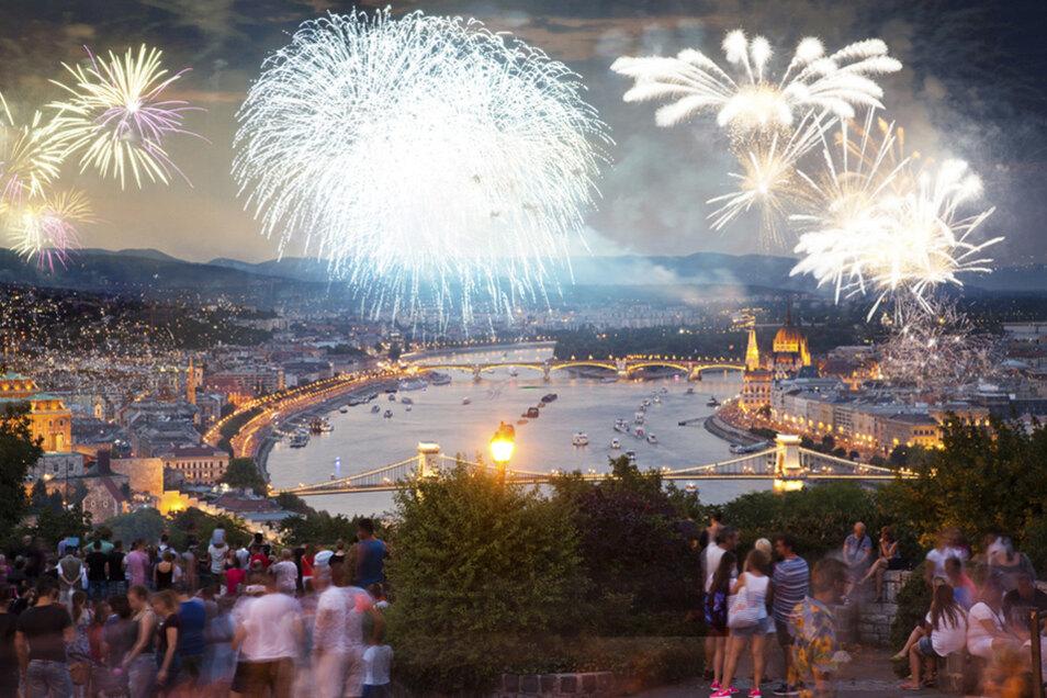 Ein besonderes Erlebnis: Silvester-Feuerwerk in Budapest.