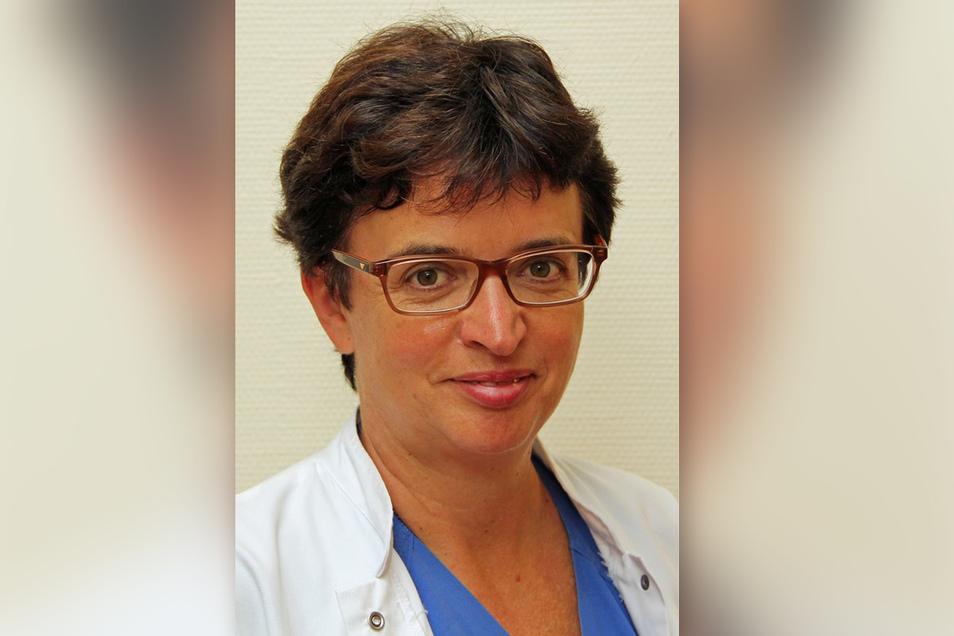 Die neue, kommissarische Leiterin der Klinik für Kinder- und Jugendmedizin im Helios-Klinikum Leisnig Dr. Ulla Lieser.