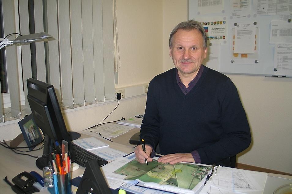 Bürgermeister von Trebendorf Waldemar Locke
