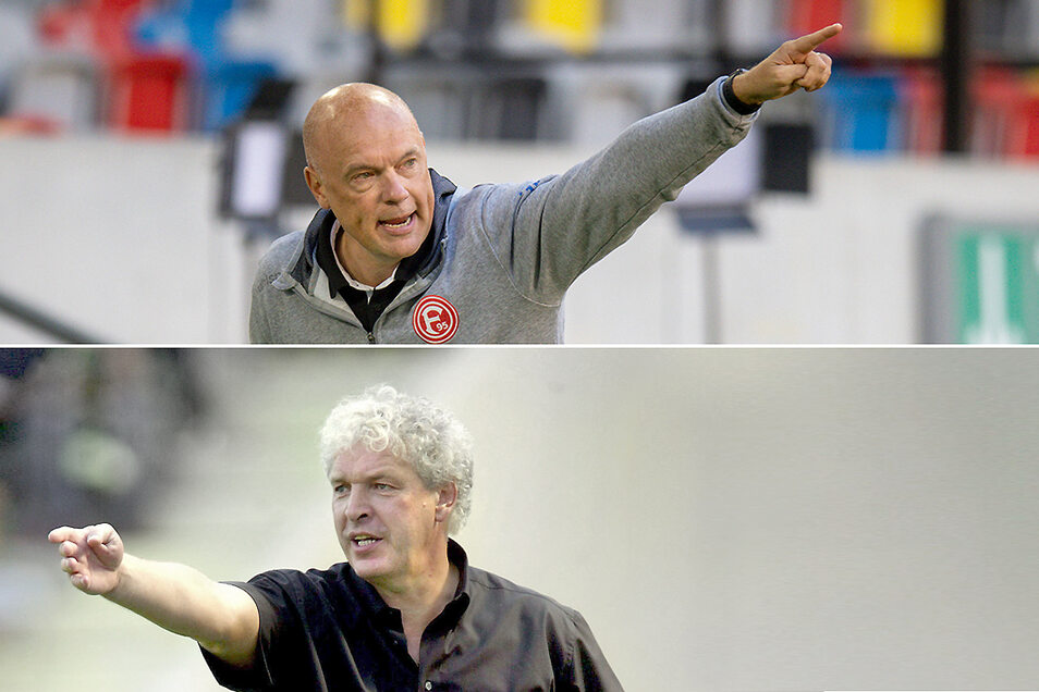 Der eine kam aus dem Osten, ging in den Westen. Der andere kam aus dem Westen, ging in den Osten. Beiden ging es um den Fußball. Und beide fanden ihr Glück.