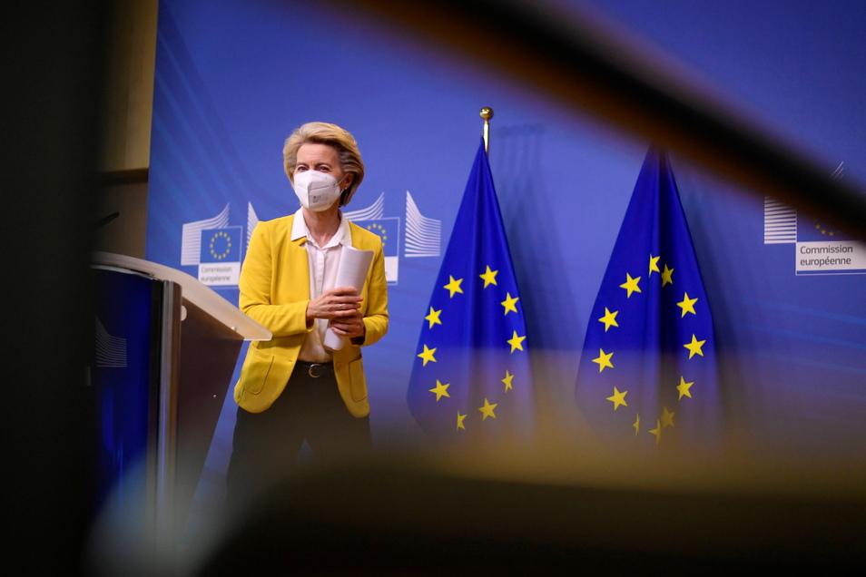 Die EU-Kommission, deren Präsidentin die deutsche Ex-Verteidigungsministerin Ursula von der Leyen ist, bereitet ein Vertragsverletzungsverfahren gegen Deutschland.
