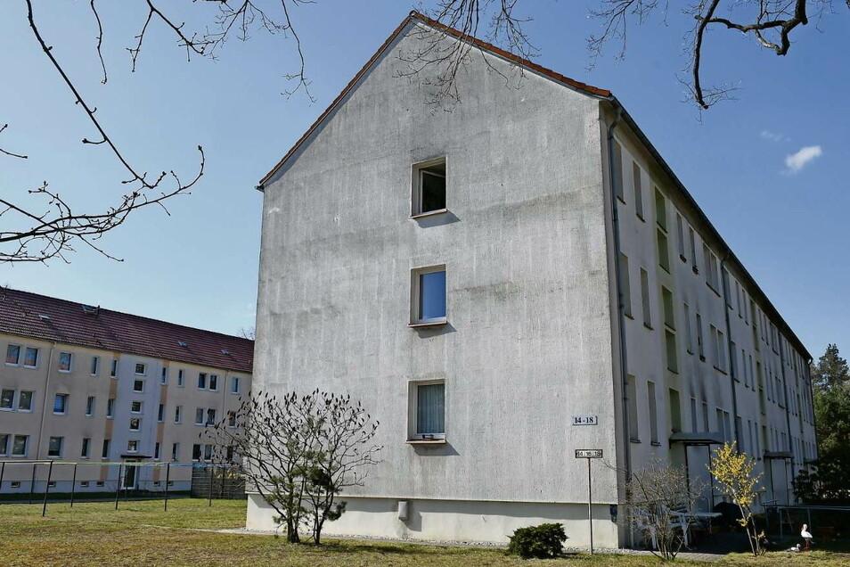Der Wohnblock Am Wasserwerk 14 bis 18 in Rietschen wird in den kommenden Jahren umfassend saniert und modernisiert.
