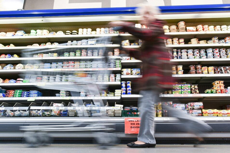 Supermärkte konnten ihre Umsätze in der Corona-Krise deutlich steigern.